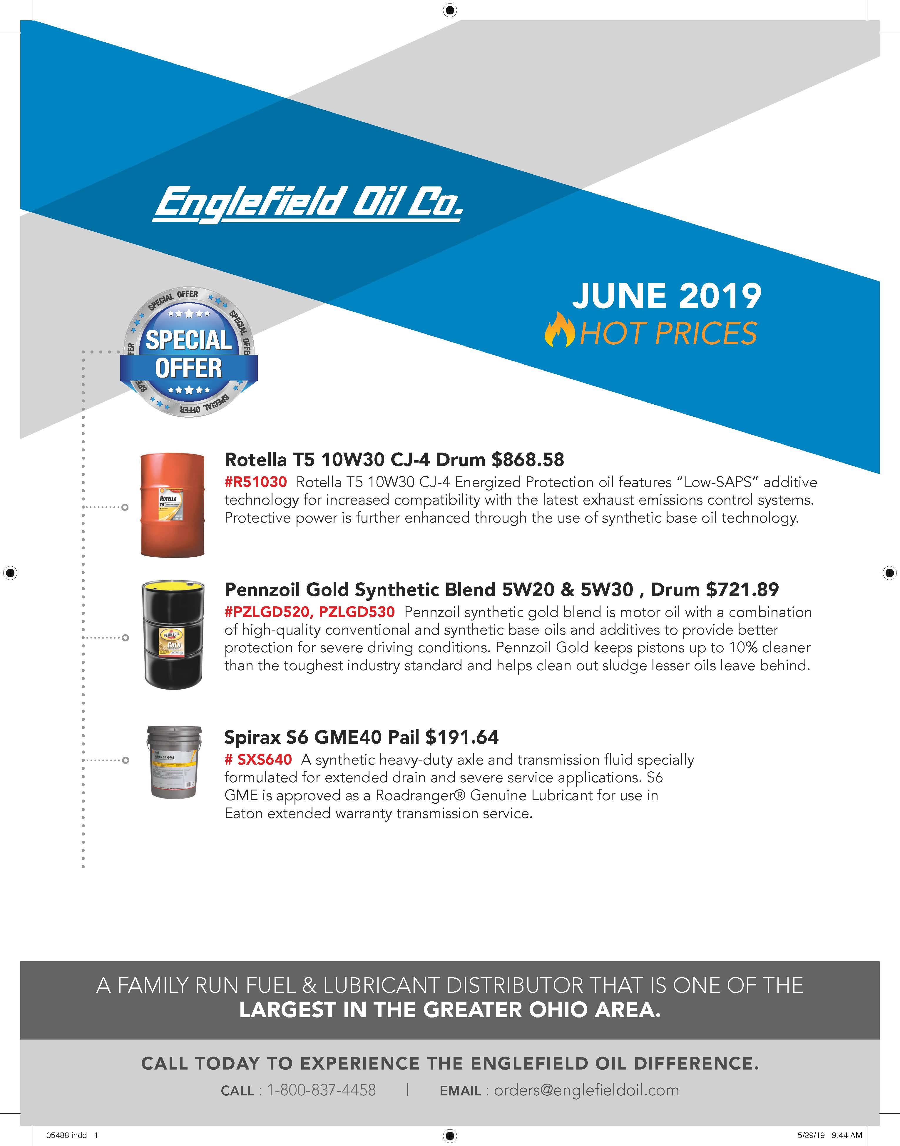 englefield oil